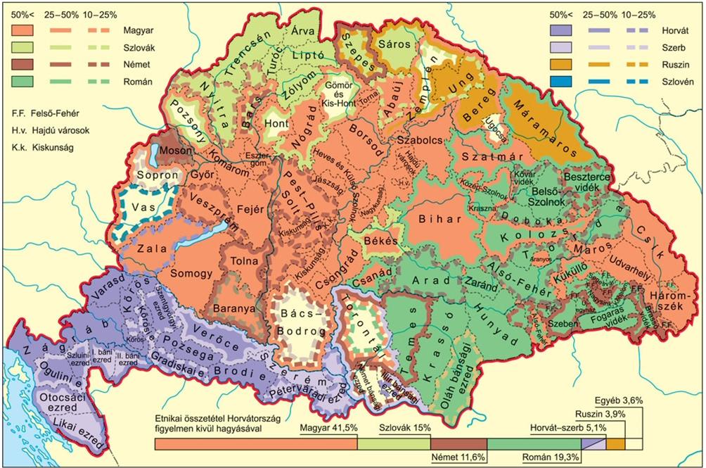 középkori magyarország térkép SZÁRAY MIKLÓS: A térkép szerepe és elemzése a történelemórán  középkori magyarország térkép