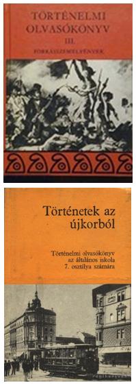 Unger Mátyás történelmi olvasókönyve, valamint a Devecseri–Major tankönyv