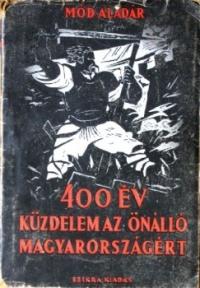 Mód Aladár könyvének borítója