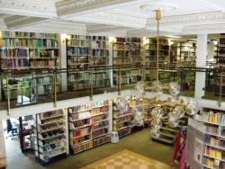 3. kép: A GEI könyvtára – a galéria (Braunschweig, 2012. augusztus 6.)
