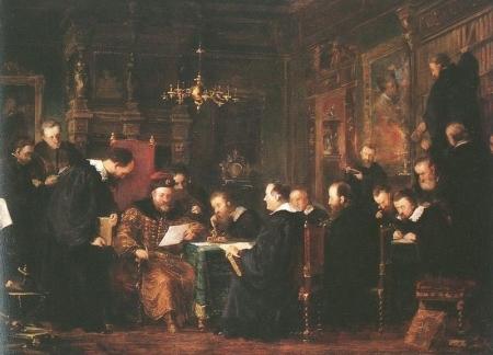 Bethlen Gábor tudósai között