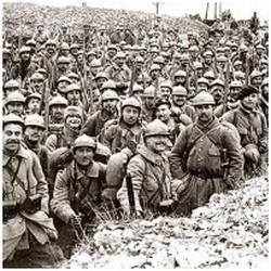 kép az I. világháború frontjáról