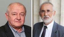 Tőkéczki László és Romsics Ignác