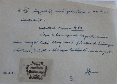 Jelentés az 1944. június 2-ai bombázás halálos áldozatairól