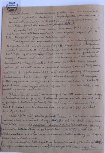 A IV. kerület vezetőjének levele a polgármesterhez a közmunkafeltételek szigorításáról II.