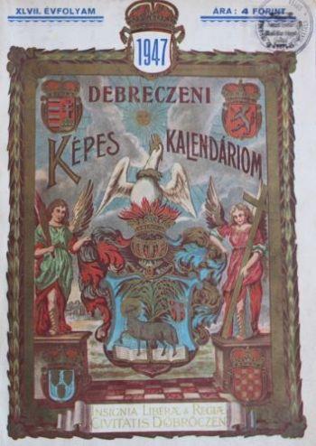 A Debreczeni Képes Kalendáriom címlapja