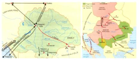 Magyarország külkapcsolatai I. Károly és I. (Nagy) Lajos korában