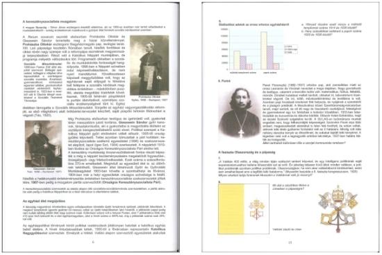 Két oldal a könyvből