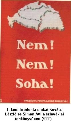 Revízionista plakát képe a tankönyvből