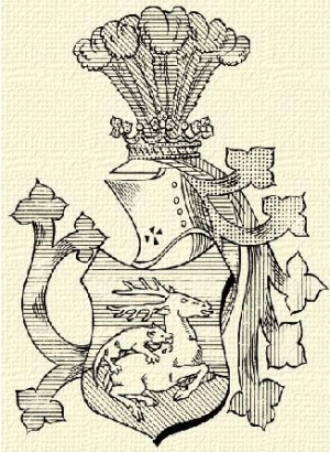 Choron család címere