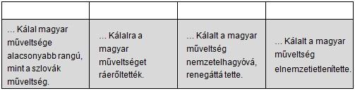 5. táblázat - feladathoz