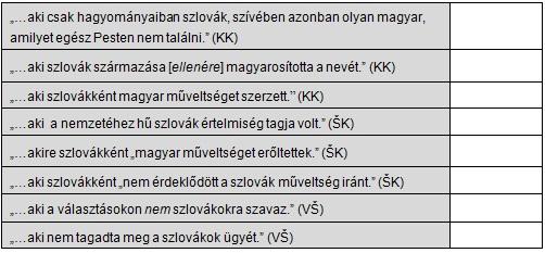 6. táblázat - feladathoz