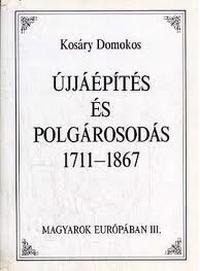 Kosáry Domonkos művének borítója