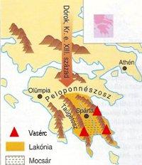 1. ábra – Görögország térképe