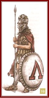 3. ábra – hoplita harcos