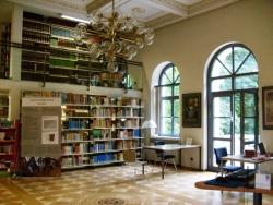 4. kép: A GEI könyvtára – a földszint (Braunschweig, 2012. augusztus 9.)