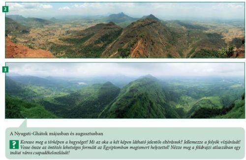 Képek a tankönyvből - a monszun