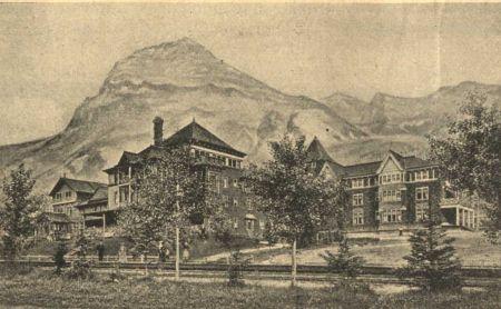 Az Amerikai naplókivonatok illusztrációja a Sziklás-hegységről.