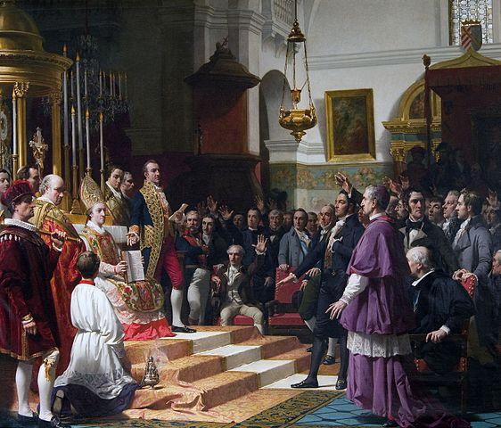 A cádizi Cortes esküje 1810-ben - José María Casado del Alisal (1862)